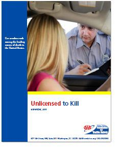 REPORT: Unlicensed to Kill (2011)
