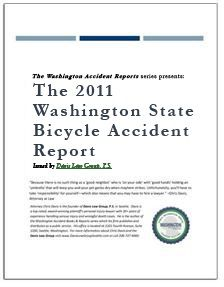 REPORT: The 2011 Washington State Bicycle Accident Report