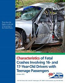 REPORT: Fatal Crashes Involving Teenage Drivers with Passengers