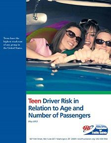 REPORT: Teen Driver Risk in Relation to Age and Number of Passengers