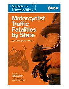 REPORT: Motorcycle Traffic Fatalities by State, 2012
