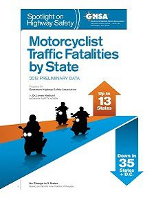 REPORT: Motorcycle Traffic Fatalities by State, 2013