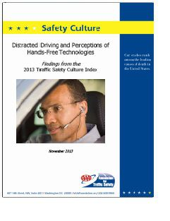 REPORT: Distracted Driving and Perceptions of Hands-Free Technologies