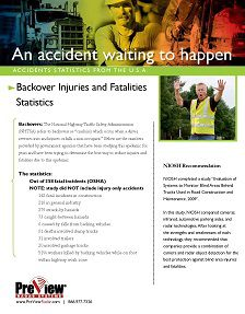REPORT: Accidents Waiting to Happen: Backover Injuries and Fatalities