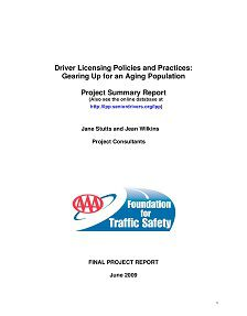 REPORT: Driver Licensing Policies: Gearing Up for an Aging Population