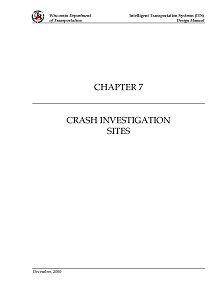 LAST REPORT: Crash Investigation Sites