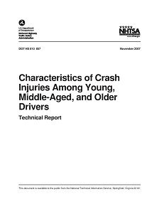 REPORT: Crash Injuries Among Young, Middle-Aged, and Older Drivers