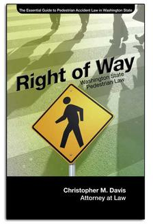 crosswalk accident law book by pedestrian injury lawyer