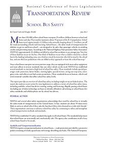 REPORT: School Bus Safety, July 2012