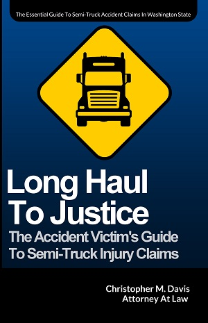 semi-truck accident book by trucking crash lawyer