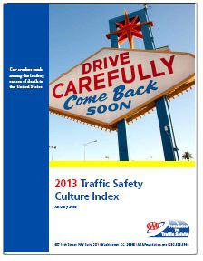 REPORT: 2013 Traffic Safety Culture Index