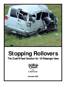 REPORT: Stopping Rollovers: The Dual-Wheel Solution for Passenger Vans