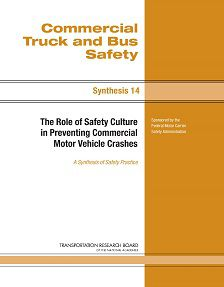 REPORT: The Role of Safety Culture in Preventing Commercial MVAs