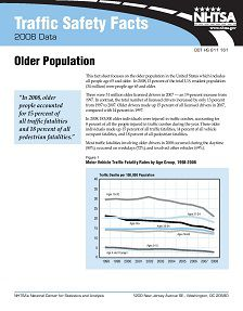 REPORT: Traffic Safety Facts: Older Population, 2008