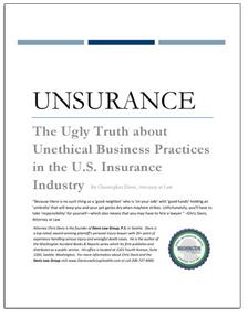 REPORT: The Ugly Truth about Unethical Insurance Practices