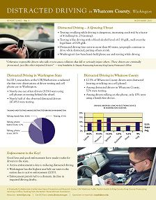REPORT: Distracted Driving in Whatcom County, Washington