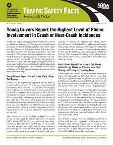 Young Drivers Report the Highest Level of Phone Involvement in Crashes