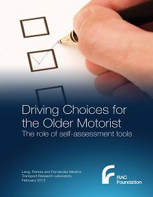 REPORT: Driving Choices for the Older Motorist: Self-Assessment Tools