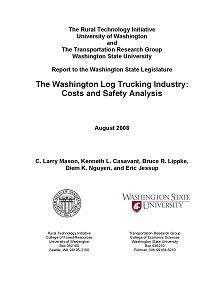 REPORT: Washington Log Trucking Industry: Costs and Safety Analysis