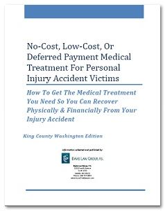 REPORT: No-Cost, Low-Cost Medical Treatment For Accident Victims
