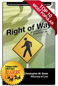 BOOK: Right of Way: Essential Guide to Pedestrian Accident Law in WA