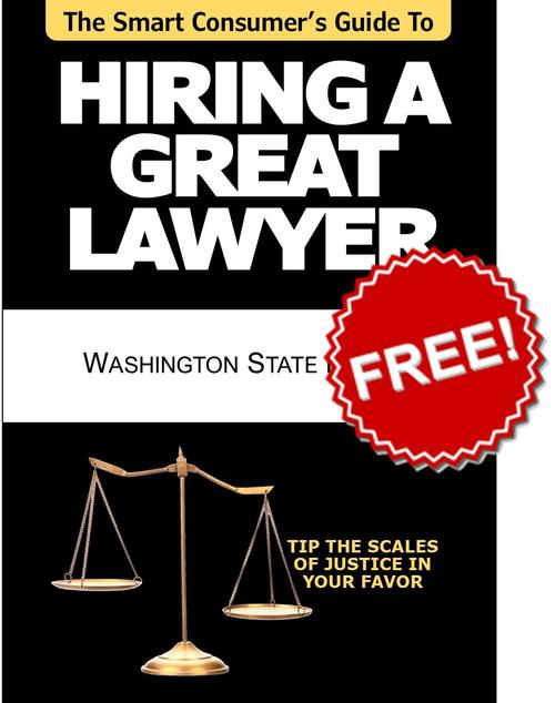 FREE BOOK: The Smart Consumer's Guide To Hiring A Great Lawyer