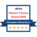 AVVO Client Choice Award Badge