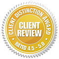 Client Distinction Award Top Rated Badge