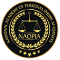 National Academy of Personal Injury Attorneys Badge