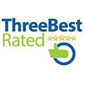 Three Best Rated Five Stars Badge