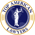 Top American Lawyers Badge