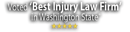 Voted Best Injury Law Firm in Washington State*