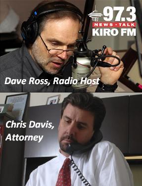 dave ross interview of Seattle attorney Chris Davis