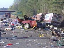 trailer accident in washington